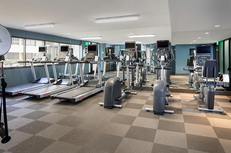 24 Hour Fitness Center at Holiday Inn Washington - College Pk (I-95)